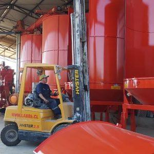 Venta e instalación de secadores industriales, Campo la Crianza, Productor Patricio Labbe