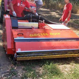 Entrega cabezal de cosecha y carro a Agricola Ranco, Río Bueno, Región de los Ríos